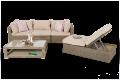 Funktionelle Rattan Lounge