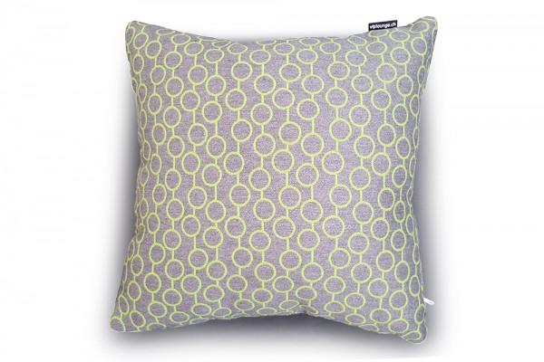 Outdoor Zierkissen Sunbrella Fabric grün dots