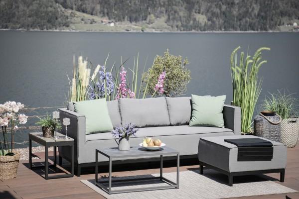 Alenia Sunbrella Lounge Set grau