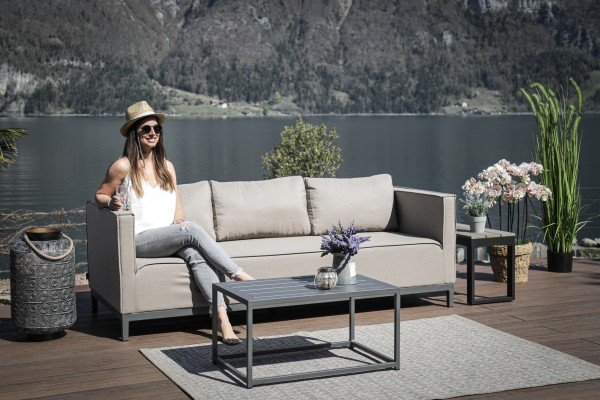 Freeride Outdoor Sofa sandbraun