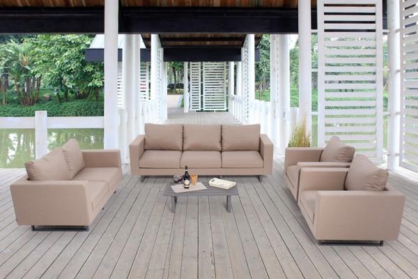 Miraculous Mandala Outdoor Sofa Sandbrown Creativecarmelina Interior Chair Design Creativecarmelinacom