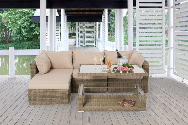 Alicia Rattan Lounge natural
