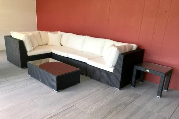 Long Beach Lounge schwarz