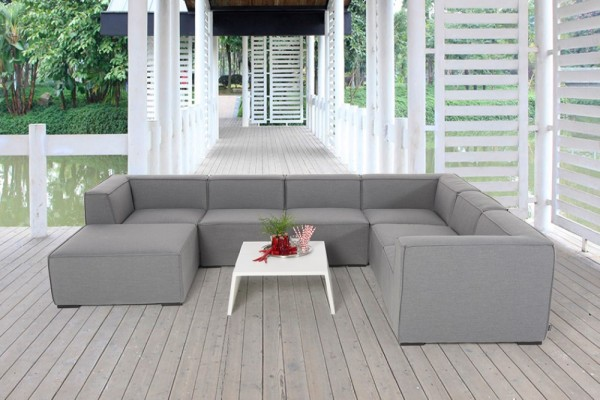 Bormeo Outdoor Lounge grau