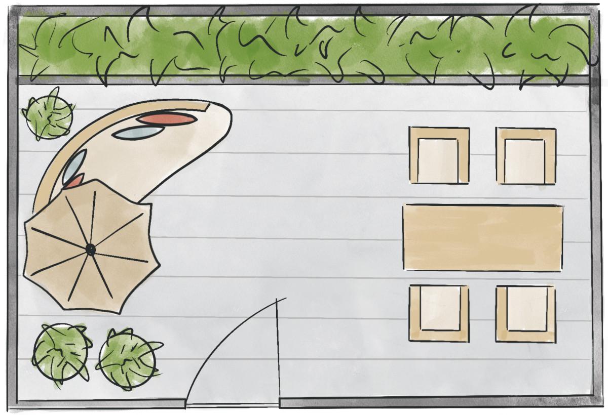 gestaltung-kleine-terrasse