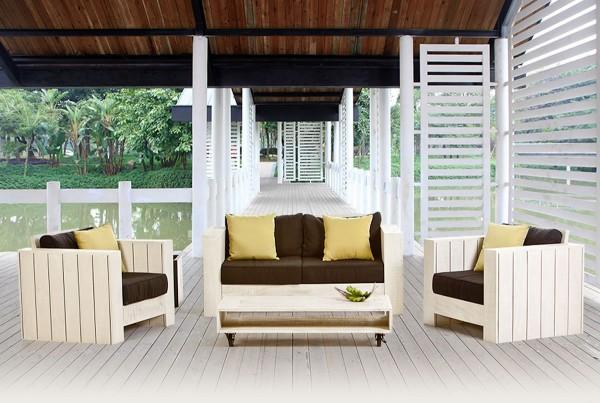 Cuba Holz Lounge