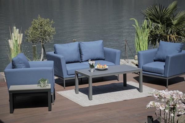 Galaxy Sunbrella Lounge Set bluestorm