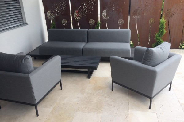 Windsor Outdoor Lounge grau