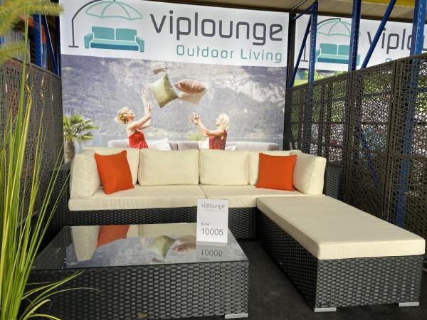 Rattan Lounge mit hohen Rückenpolster Art.-Nr. 10005