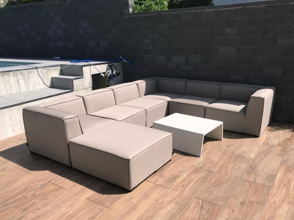 Bormeo Outdoor Lounge grau