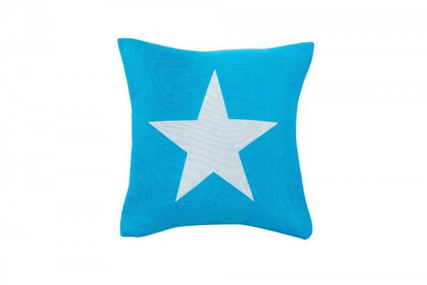 Zierkissen Big Star Special aqua
