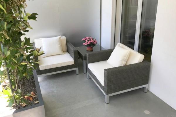 Shine Lounge graubraun