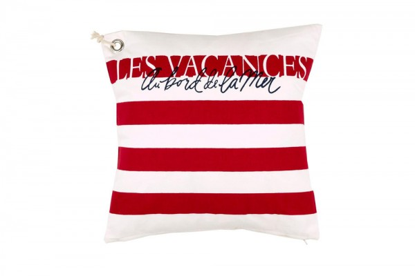 Zierkissen Vacances Special red