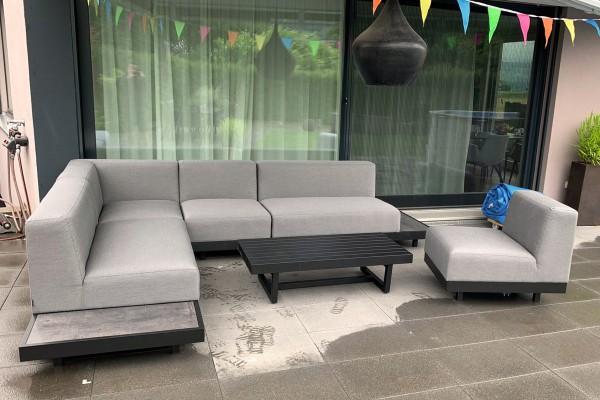 Toronto Outdoor Lounge grau