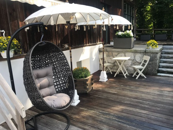 Calimero Hanging Chair braun