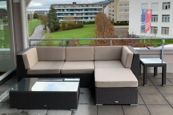 Leonardo Rattan Lounge braun