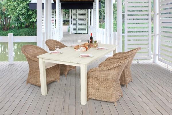 Romantik Tisch mit Sessel
