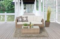 Luxury Sofa natural - Überzugsset beige