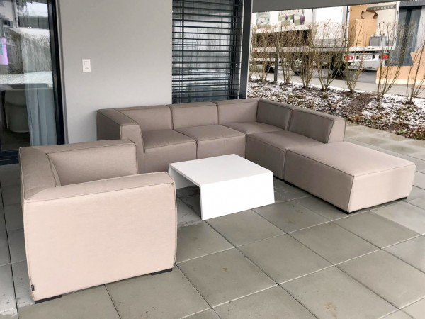 Eline Outdoor Lounge sandbraun