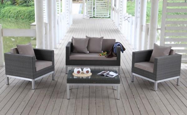 Opera Rattan Lounge - Überzugsset sandbraun