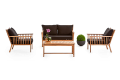 Holz-Lounge