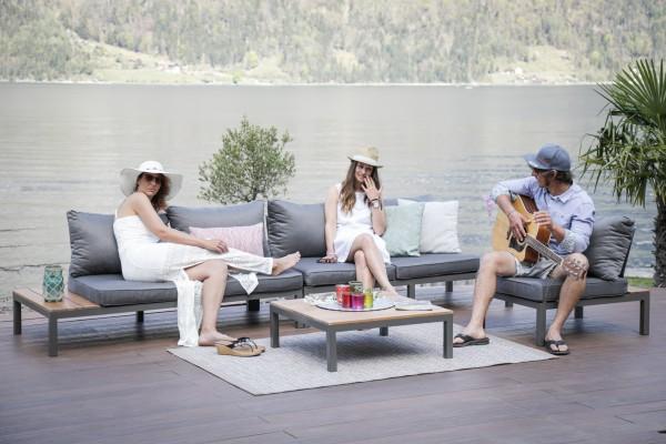 Sit Deluxe Sofa Teakholz