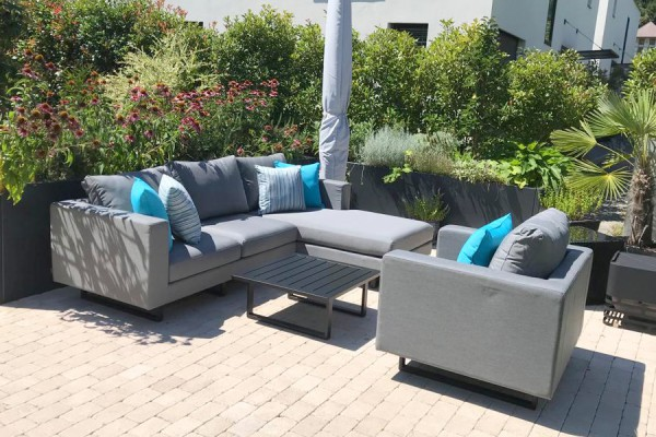 Thomson Deluxe Outdoor Lounge grau