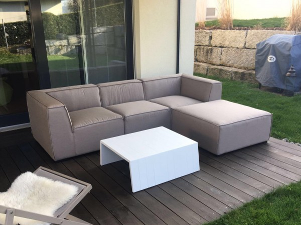 Emma Outdoor Lounge sandbraun