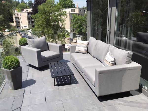 Outdoor Lounge Wellington grau