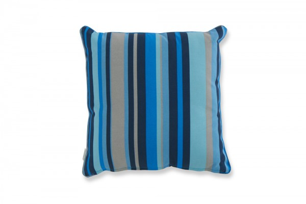 Zierkissen blue stripes